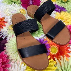 Dolce Vita Black Payce Sandals - size 6.5